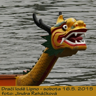 Dragon boats - Lipno lake