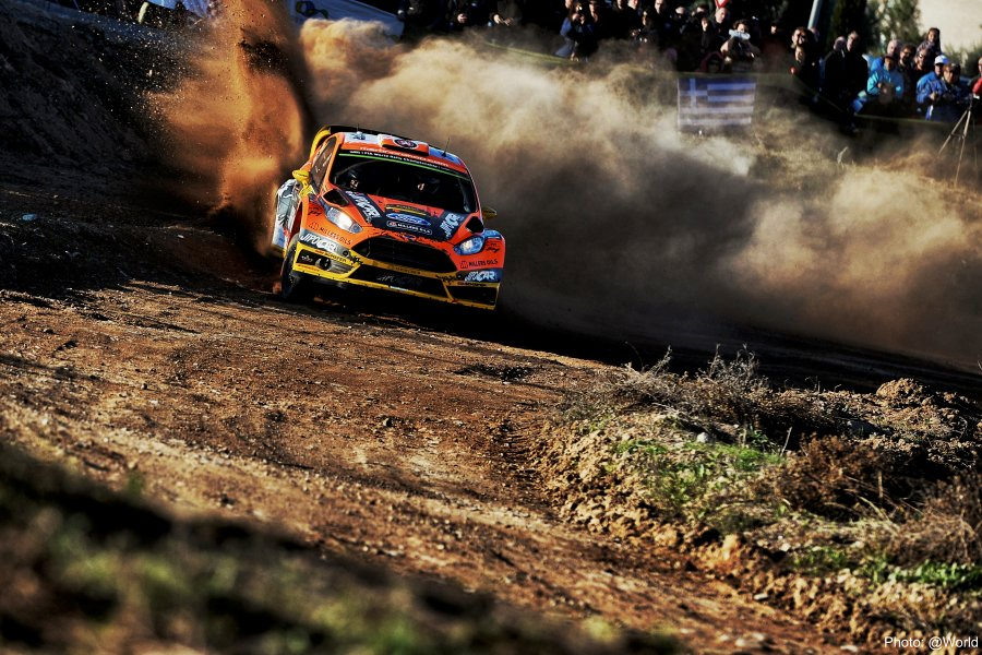 Martin Prokop at Rally Catalunya
