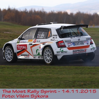 Rally Sprint Most 2015