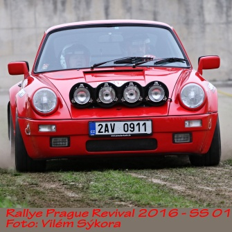 Rallye Prague Revival 2016